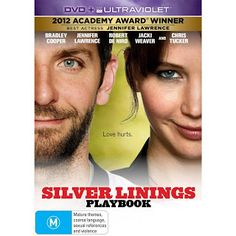 Great movie - http://www.danniibeauty.blogspot.com.au/2013/08/silver-linings-playbook-dvd-review.html