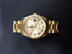 Rolex Presidential Yellow Gold
