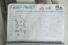Habit tracker - Maaliskuu lukuina - Starbox