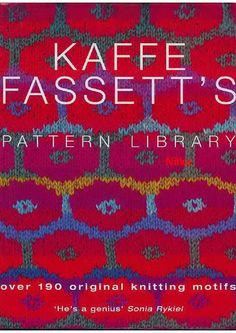Over 190 original knitting motifs - kaf fas - Алина Азинова - Picasa Web Albums #knittingchart