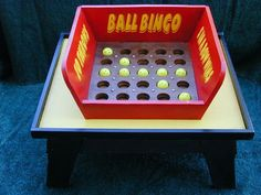 ball bingo ... try to get five in a row, tic tac toe ball...try to get 3 in a…