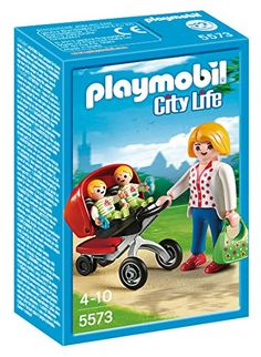 PLAYMOBIL Mother with Twin Stroller Set PLAYMOBIL® http://www.amazon.com/dp/B00IF1VYII/ref=cm_sw_r_pi_dp_an7kwb17RR1J6