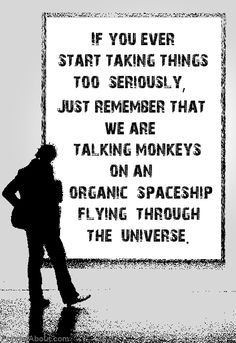 talking monkeys.
