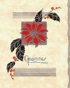 §§§ . 1935 christmas card