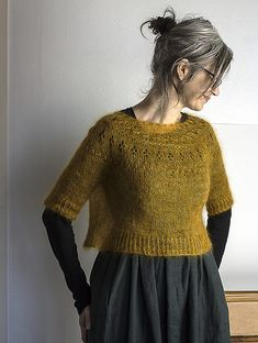 Ravelry: Ranunculus pattern by Midori Hirose The Effective Pictures We Offer You About clothes outfits A quality picture can tell you many things. You can find the most beautiful pictures that can be Mode Inspiration, Pulls, Dressmaking, Get Dressed, Knitwear, Knitting Patterns, Knit Crochet, My Style, Sweaters