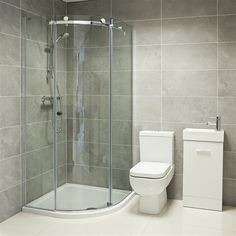 Karla Quadrant Shower Enclosure - £499 | Bathroom Heaven http://www.bathroomheaven.com/quadrant-shower-enclosures/karla-800-x-800mm-sliding-door-quadrant-shower-enclosure-easy-clean-15067.aspx