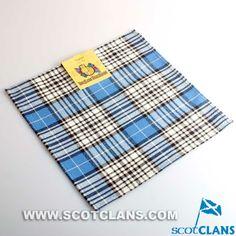 Clan Napier Tartan Handkerchief