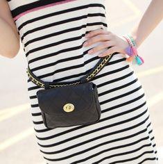 nice Women's waist pack chain strap fashion mini bags