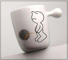 coffee mug designs by Propaganda from Thailand. The designer is Chaiyut Plypetch