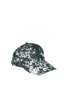 ASOS Baseball Cap with Tie Dye Batik 8b9399e8a30d