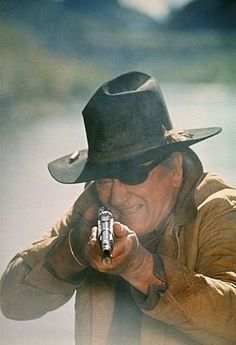 ROOSTER COGBURN - John Wayne - Paramount - Sequel to 'True Grit, produced by Hal B. Wallis.