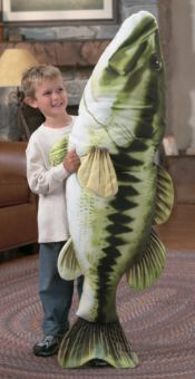 $20  Bass Pro Shops® Giant Stuffed Fish for Kids - Bass | Bass Pro Shops