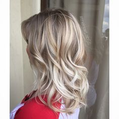 Icy cool blonde ombré