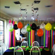 80's party decorations | 80's Themed Birthday Party