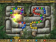 Remember the highly addictive marble shooter game, Zuma? Let the record state the INCA BALL is just as addictive, and it's FREE at Jenkat Games! http://www.jenkatgames.com/free/Inca-Ball/