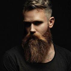 moody beard