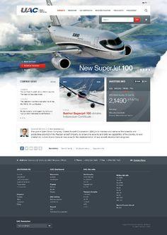 #Webdesign for airline company 83oranges.com