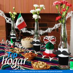 Decora tu mesa en estas Fiestas Patrias. Para recibir a tus invitados hoy en la…
