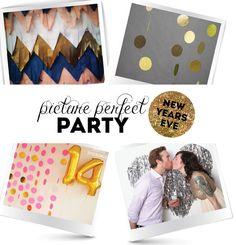 New Years Eve Photo Backdrop Ideas - Easy & DIY | @Mindy CREATIVE JUICE