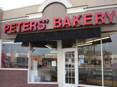 Peters' Bakery - San Jose, CA. Delicious baked goods !