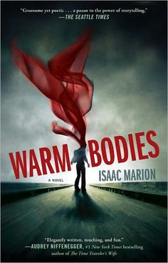"""Stephanie Meyer said """"Isaac Marion has created the most unexpected romantic lead I've ever encountered. (that's intense!!) Will start reading tonight!"""