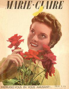 couverture vintage magasine marie claire 12 27 couvertures du magazine Marie Claire  divers design