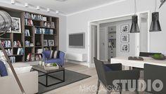 Salon w stylu vintage #wnętrza