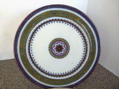 "Wood Challinor & Co., England ""Antique"" 9"" Plate, c. 1860. $29.99"