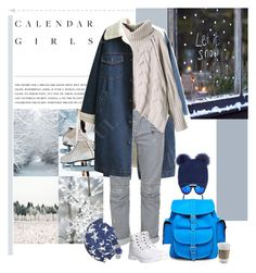 """winter / 1.2017"" by jelena-m-s ❤ liked on Polyvore featuring Kerr®, Balmain, Timberland, Grafea, Illesteva, Inverni, Beck Sonder Gaard and Rolex"
