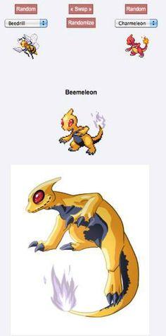 Beemeleon, this actually looks pretty sweet
