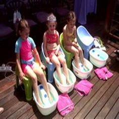 Pamper Girlz Pamper Party, Parties, Outdoor Decor, Kids, Fiestas, Young Children, Boys, Spa Party, Children