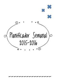 Planificador Semanal 2015-2016