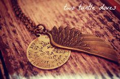 """I love this necklace-- """"Dear God, the only thing I ask of you is to hold her when I'm not around & much too far away."""""""