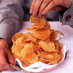 Waffle Chips Recipe | SAVEUR