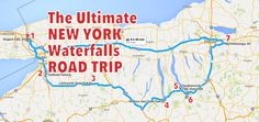 The Ultimate New York Waterfalls Road Trip Is Right Here – And You'll Want To Do It