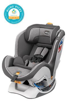 2015 BEST CONVERTIBLE CAR SEAT Chicco NextFit Zip Convertible Car Seat  *BabyCenter Moms' Picks are based on a nationwide survey and online voting on BabyCenter.com that allow parents to voice their opinions about and share their experience with the key products and gear of parenting. BabyCenter does not endorse any specific product.