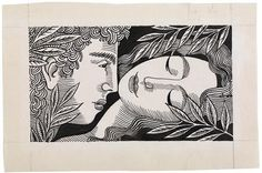 José de Almada Negreiros / Portuguesa Gustav Klimt, Couple Art, Deco, Figurative Art, Caricature, Painters, Printmaking, Paper Art, Literature