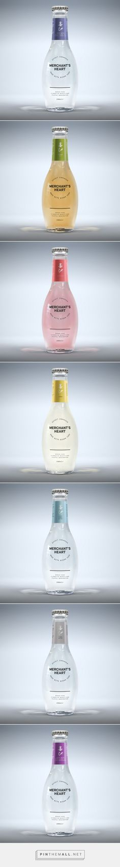 Merchant's Heart Tonic Water Packaging by Antonio Milo | Fivestar Branding Agency – Design and Branding Agency & Curated Inspiration Gallery #beveragepackage #packaging #packagingdesign #packagedesign #design #designinspiration