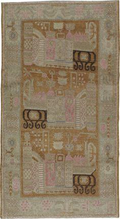 Antique Khotan Rug, No. 15603 - 4ft. 2in. x 7ft. 7in.