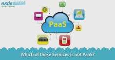 Which of these services is not #PaaS? · #Force.com · #MicrosoftAzure · #AmazonEC2 · #eNlightCloud