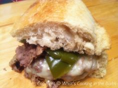 What's Cooking in the Burbs: Crock Pot Philly Cheese Steak Sandwiches