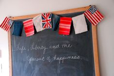 family chic rag flag garland
