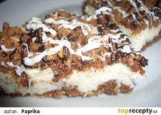 Kokosovo tvarohový koláč - strouhaný recept - TopRecepty.cz