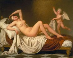 Danaë and the Shower of Gold  Adolf Ulrik Wertmuller, 1787
