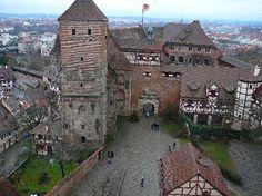 Castle in Nuremberg, Germany home of one of my favorite artists, Albrecht Durer