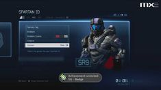 Halo 4 - Quick Look: Loadouts & Menu GUI HD (Commentary)