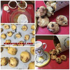 üzümlü cevizli kurabiye