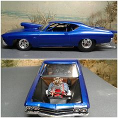 1969 Chevroelt Chevelle 'Pro Mod' - Scale Auto Magazine - For building plastic & resin scale model cars, trucks, motorcycles, & dioramas