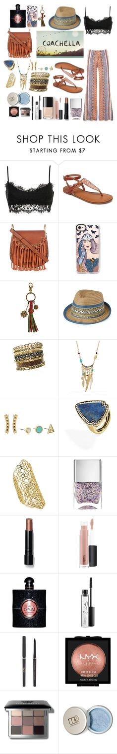 """Coachella 2k17"" by fardaniyah ❤ liked on Polyvore featuring Roxy, Chloé, Casetify, Karma, Simons, WithChic, Rebecca Minkoff, BaubleBar, Kendra Scott and Nails Inc."