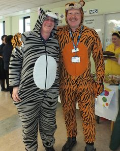 Staff wore their onesies to work at Burton Hospitals NHS Foundation Trust to raise money for Children In Need, November 15, 2013.